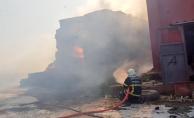 Şanlıurfa'da Samanlık Yangını