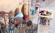 Türk Ve Suriyeli Çocuklar Sokak Oyunlarıyla Biraraya Geldi