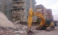 Urfa'da Yıkım Sırasında Çöktü