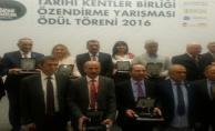 Büyükşehir'e Tarihi Kentler Birliği  Özendirme Ödülü