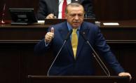 Erdoğan Kürsüye Vura Vura Konuştu: