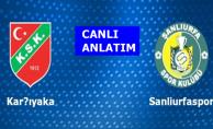Karşıyaka 3-2 Şanlıurfaspor