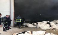 Organize Sanayide Fabrika Yangını