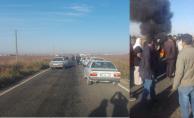 Urfa'da 3 Kişinin Öldüğü Yolu Köylüler Trafiğe Kapattı