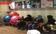 Urfa'da Gebe Okulu Uzmanlar Tarafından Bilinçlendiriliyor