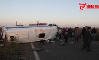 Urfa'da kaza, 3 ölü, 17 yaralı