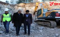Kültür ve Gençlik Merkezi inşaatı sürüyor