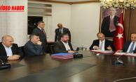 Şanlıurfa'nın Gelişimi İçin 4 Protokol Birden İmzalandı