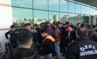 Suriyelilerin izin belge kontrolü yapıldı