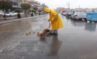 Urfalı çiftçilerin yağmur sevinci