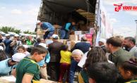 18 İnsani Yardım Tır'ı Afrin'e Uğurlandı