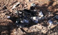 Boş Araziye Savaş Uçağının Yakıt Tankı Düştü