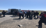 Bozova yolunda kaza, 2 ölü, 4 yaralı
