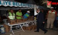 Başkan Demirkol, 15 Temmuz'da Yine Meydandaydı