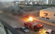 Urfa'da Yangın Paniği