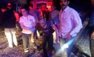 Yangında Mahsur Kalan 17 Engelliyi Polisler Kurtardı