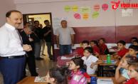 Vali Erin, Süleymaniye İlkokulunu Ziyaret Etti