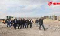 Başkan Çiftçi, Çevik Kuvvet Köprülü Kavşağında Çalışmaları İnceledi