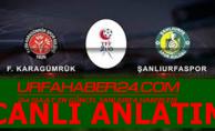 Fatih Karagümrük A.Ş. 4-2 Şanlıurfaspor
