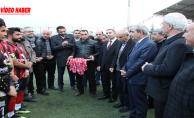 Başkan Demirkol, Haliliye Belediyesi 1. Amatör Ligi Şampiyonuna Kupasını Verdi