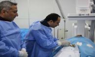 Anjiografi Ünitesi Mehmet Akif İnan Hastanesinde Açıldı