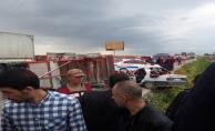 Urfa'da İki Araç Çarpıştı, 2 Ölü, 5 Yaralı