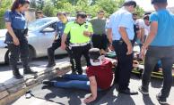 Balıklıgöl'de Trafik Kazası, 2 Yaralı