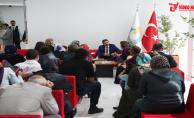 Başkan Canpolat, Halk Günü Toplantısında Vatandaşlarla Görüştü