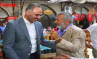 Başkan Kuş, Şanlıurfa'ya Akın Eden Turistlerle Yakından İlgilendi