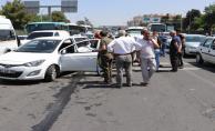 Abide Kavşağında Kaza, Araçlar Birbirine Girdi