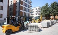 Haliliye Belediyesi, Beton Parke çalışmalarını Sürdürüyor