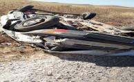 Şanlıurfa'da trafik kazası, 1 ölü, 3 yaralı
