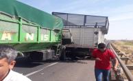 Şanlıurfa'da Trafik Kazası, 1 Yaralı