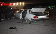 Karakörpü'de Trafik Kazası, 2 Yaralı