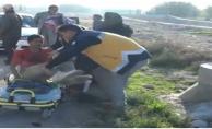 Şanlıurfa'da 2 Motosiklet Çarpıştı, 2 Yaralı
