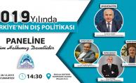 Eyyübiye Belediyesi, '2019 Yılı Türkiye'nin Dış Politikası' Paneline Ev Sahipliği Yapıyor