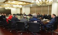 Suriye'ye Sivil Yardımlar Değerlendirildi
