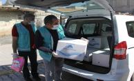 Eyyübiye Belediyesi, 65 Yaş Üstü Vatandaşların İhtiyaçlarını Gidermeyi Sürdürüyor.