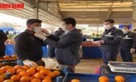 Eyyübiye Belediyesi, Esnafa Maske Ve Eldiven Dağıtımını Sürdürüyor.