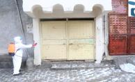 Eyyübiye Belediyesi, Dezenfekte Çalışmalarını Sürdürüyor