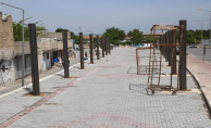 Eyyübiye Belediyesi, Kapalı Semt Pazarı Yapımını Sürdürüyor