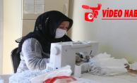 Eyyübiye Belediyesi, Maske Üretimini Seri Bir Şekilde Sürdürüyor