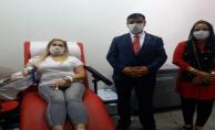 ANAVATAN İl Başkanlığı'ndan Kızılay'a kan bağışı