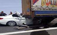 Birecik'te feci kaza, 1 ölü, 2 yaralı