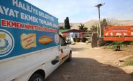 Haliliye belediyesi, aylık 15 ton ekmek israfını önlüyor