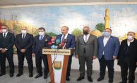 Urfa'daki belediye başkanlarından toplu açıklama