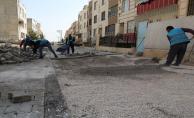 Haliliye belediyesi, 7 mahallede yeni yollar yapıyor