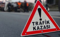 Urfa'da trafik kazası, 1 ölü, 5 yaralı