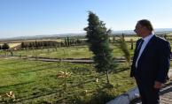 Vali Erin, Şehitlik ve Zeytindalı Kampüsünü Ziyaret Etti