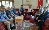 Başkan Aslandan Şehit Yakınları ve Gaziler Derneğine Ziyaret